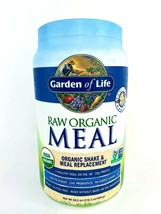 Garden of Life Meal Replacement Vanilla Powder 28 Serv. Organic Raw Plant Based - $41.75