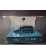 TOYOTA WISH LED Light Keychain Light Greishh teal metallic Mini Car Japan - $38.99