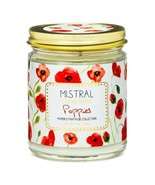 Mistral Papiers Fantaisie Poppies Jar Candles 200g 7oz - $21.00