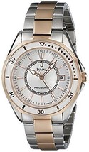 Bulova Women's 98M113 WINTER PARK Two Bone Bracelet Watch. - $215.04