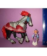 Legend of Zelda Nintendo Ocarina of Time 2000 Toy Biz Horse and Figure L... - $18.00