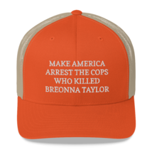 Make America Arrest The Cops Hat / Make America Arrest The Cops / Trucker Cap image 11