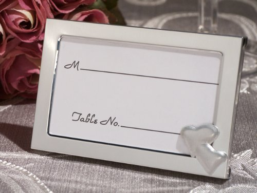 Two Hearts become one Place card frame [SET OF 12]