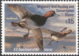 RW71, $15.00 Redheads Duck Stamp VF NH - Stuart Katz - $19.95