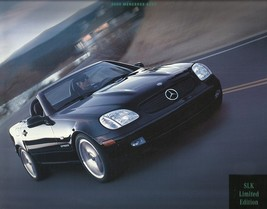 2000 Mercedes-Benz SLK 230 LIMITED EDITION brochure catalog Kompressor - $10.00