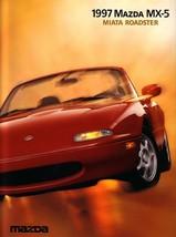 1997 Mazda MX-5 MIATA sales brochure catalog US 97 - $8.00