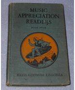 Music Appreciation Reader Children's Old Vintage School Text - $7.95
