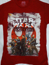 Star Wars Rogue One Movie Team One Rebel Alliance Group Confetti T-Shirt - $15.00
