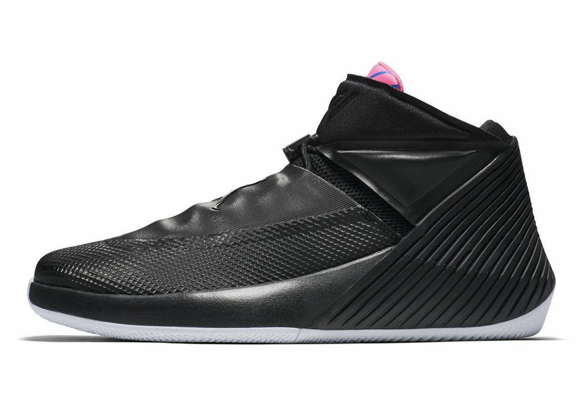 new product 1e0d2 fb70d Nike Air Jordan WHY NOT ZER0.1 Masters AA2510-024 BLACK PINK ORANGE BLUE SZ  11 - £59.98 GBP