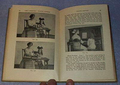Teachers Manual Pianoforte 1913 Childrens Antique School Text Book