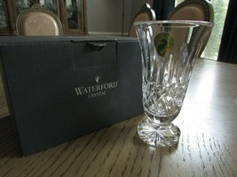 """WATERFORD CRYSTAL ARCHIVE VIOLET PEDESTAL VASE 4.75"""" NEW IN BOX MADE IN ... - $29.65"""