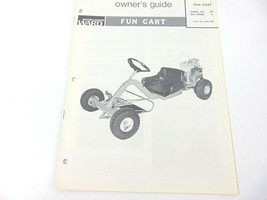 Vintage Montgomery Ward Owners Guide Fun Cart GIL-13958A 3HP - $19.79