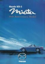1999 Mazda MX-5 MIATA 10th ANNIVERSARY sales brochure catalog US 99 - $15.00