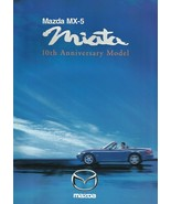 1999 Mazda MX-5 MIATA 10th ANNIVERSARY sales brochure catalog US 99 - $15.00