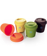 eco silicone cup mug 220ml portable cup for coffee water tea - $9.90