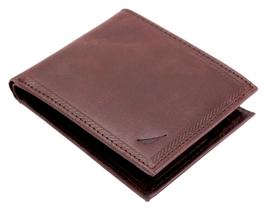 Nautica Men's Genuine Vintage Leather Credit Card ID Billfold Passcase Wallet image 12