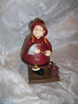 RUSS BERRIE & CO BOBBLE GUYZ FIREMAN FIREFIGHTER FIGURE HOT STUFF - $14.84