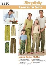 Simplicity Sewing Pattern 2290 Child's, Teens' and Adults' Pants, A (XS - L / XS - $13.48