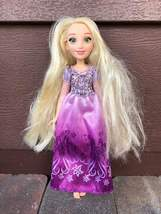 "2015 Hasbro Disney Princess Royal Shimmer Rapunzel Doll 10"" - $7.29"