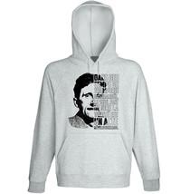 George Orwell Dans Des Temps - New Cotton Grey Hoodie - $31.88
