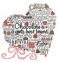 Let's Do Chocolate cross stitch chart Imaginating - $5.40