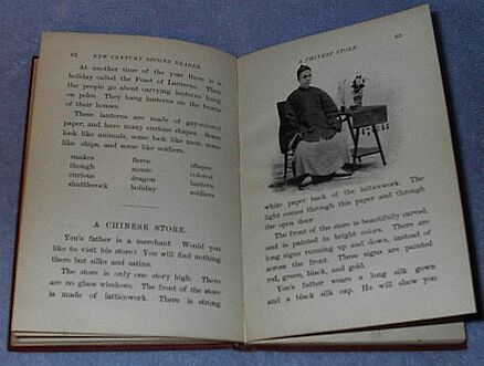 Children's Antique School New Century Reader book 1899