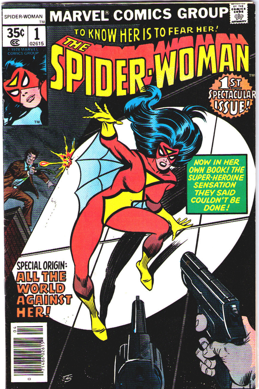 1978 Marvel Comics SPIDER-WOMAN  -  FIRST Issue