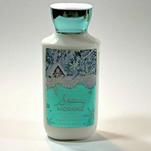Bath and Body Works Snowy Morning 24 Hour Moisture Body Lotion 8 oz Shea Butter - $7.91