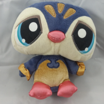 "Hasbro Littlest Pet Shop LPS Purple Sassiest Penguin 6"" Bean Tush Plush ... - $9.29"