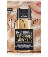L'Oreal Paris Superior Preference Mousse Absolue Hair Color - 1021 Light... - $25.00