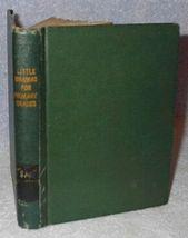 Little Dramas Book Children's Antique School Book - $19.95