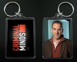 Criminal Minds Keychain Keyring Jason Gideon Mandy Patinkin - $7.99