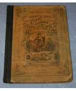 First Lessons in Geography Primer Children's Antique School Text 1869 - $49.95