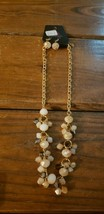 Paparazzi Short Necklace & Earring set (new) #624 STONES IN SHADES OF BROWN - $7.61