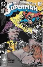 The Adventures of Superman Comic Book #445 DC Comics 1988 NEAR MINT UNREAD - $2.99