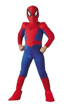 Spider-Man Marvel Superhero Comic Book TV Movie Character Kids Costume 1... - $33.77