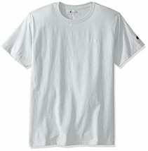 Champion Men's Short Sleeve Classic Jersey Tee T0223 White XL Chest Stitch Logo - $13.09