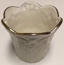 "LENOX Bone China Merry Lights ANGEL Votive tea light Candle Holder 3.5"" NIB - $29.69"