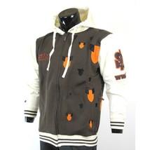 Skater hoodie jacket by SCIFEN white long sleeve hoody jacket Skater Jac... - $39.99
