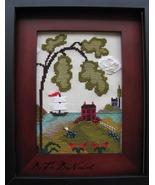 Nantucket Village Series Part 1 cross stitch chart By The Bay Needleart  - $9.00