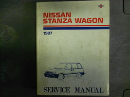 1987 Nissan Stanza Wagon Service Repair Shop Manual FACTORY DEALER OEM B... - $20.91