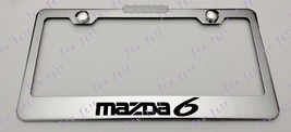 Mazda 6 Stainless Steel License Plate Frame Rust Free W/ Bolt Caps - $12.86