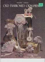 Plastic Canvas Leaflet RARE - Old Fashioned Ornaments 8 Designs - $4.00