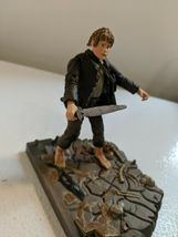 The Lord of the Rings Samwise Gamgee w/base Mt Doom & accessories 2001 Marvel image 5