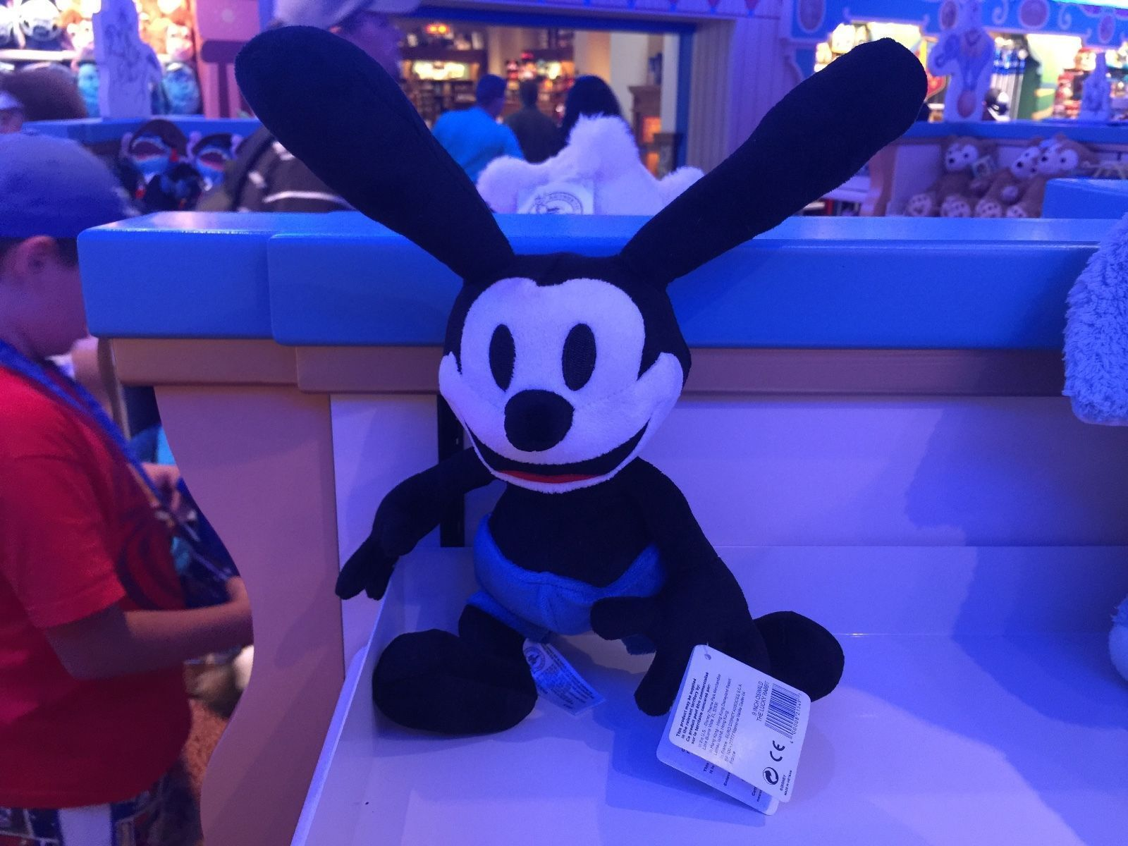 "Primary image for Disney Parks Exclusive Oswald the Lucky Rabbit Plush Doll 9"" New with Tag"