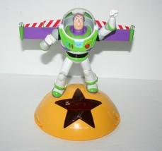 Disney Toy Story Buzz Lightyear Alarm Clock Radio - Talking Buzz Phrases - $30.81