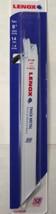 "LENOX 21519814R 8"" x 14 TPI Metal Cutting Bi-Metal Recip Saw Blades 5pk USA - $7.92"