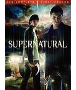 Supernatural: The Complete First Season (DVD, 2006, 6-Disc Set) - $11.39