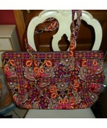 Vera Bradley Get Carried Away Bag in Safari Sunset EUC - $69.50