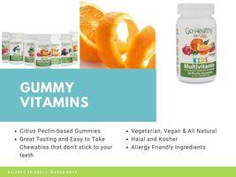 Strong Immune System Natural Vitamin C Gummy Echinacea Kids,Vegan 60 Ser... - $25.99